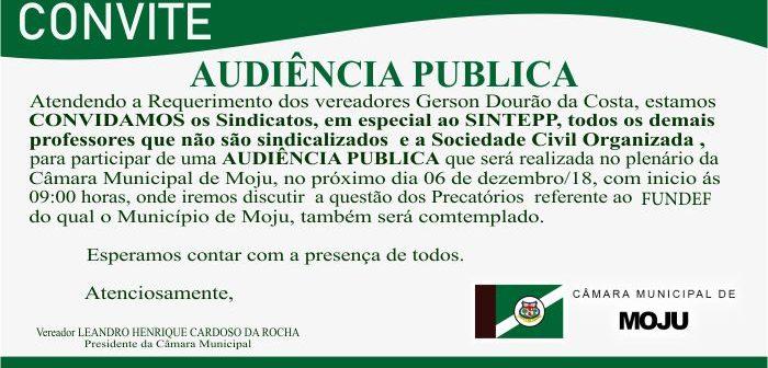 Audiência Pública FUNDEB